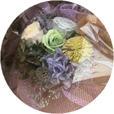 プリザ仏花