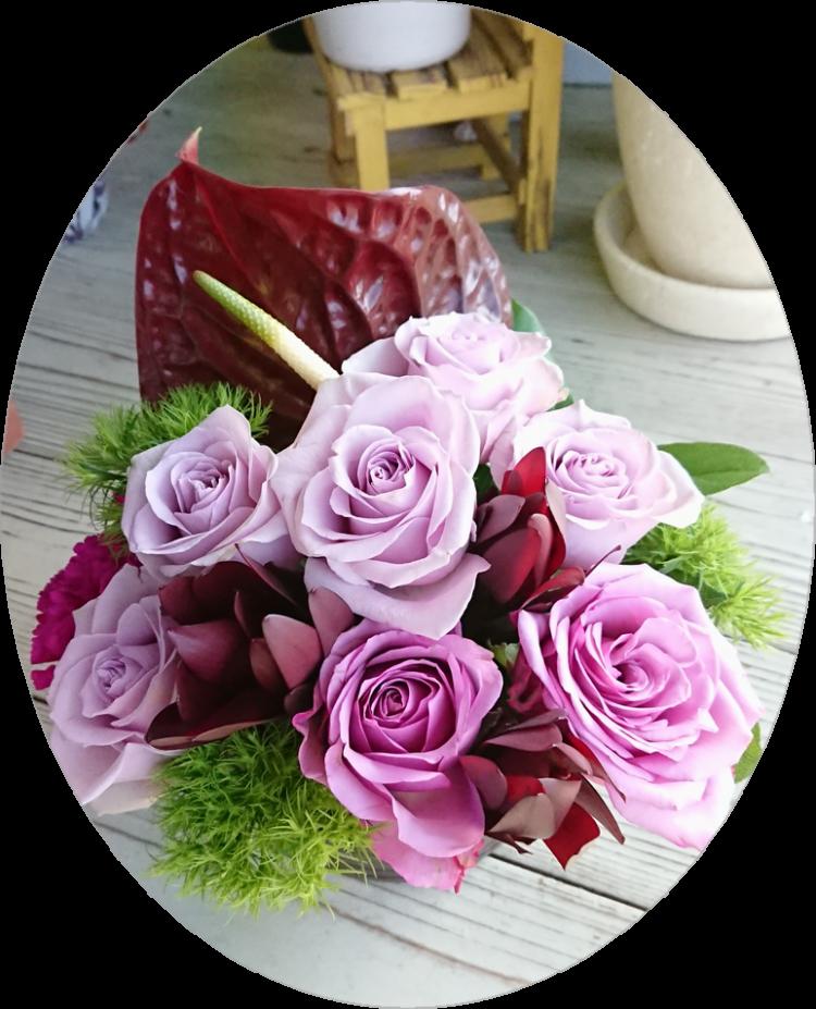"""""""花""""をプレゼント"""